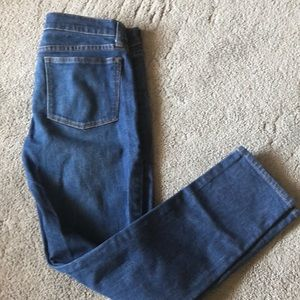 J crew toothpick jeans size 27 ankle cut